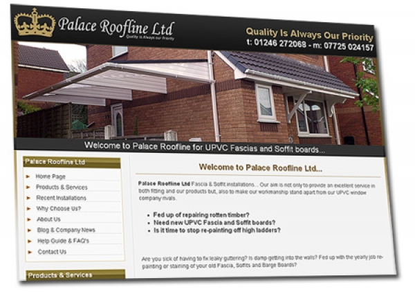 Launch of the new Palace Roofline Web Site