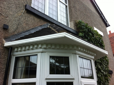 Bay Window Roofing And Fascia Palace Roofline In