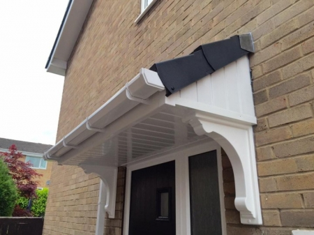 Door Canopy & Door Canopy - Supplied and Installed by Palace Roofline Ltd in ...